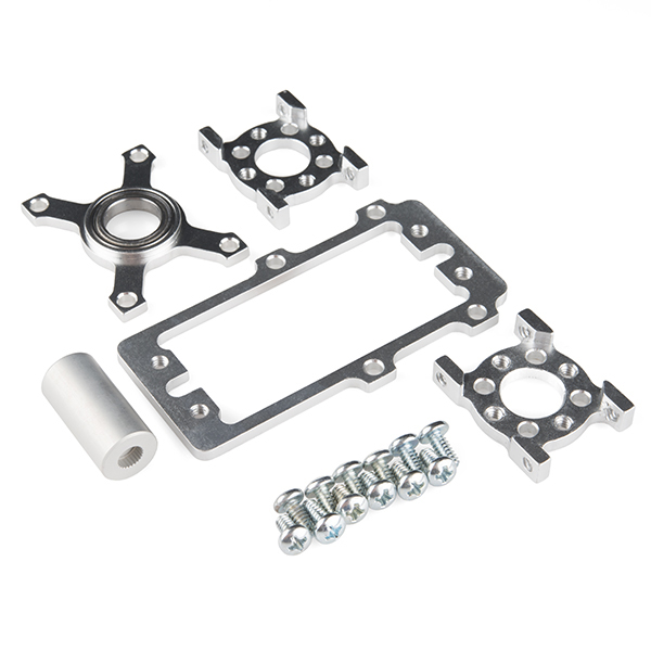 ServoBlock Kit - Hitec 1/4-Scale (Plain Shaft)