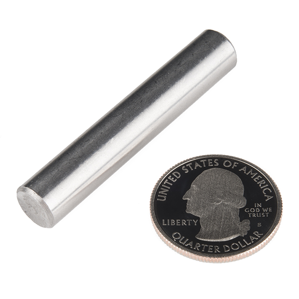 "Shaft - Solid (Stainless; 3/8""D x 2""L)"