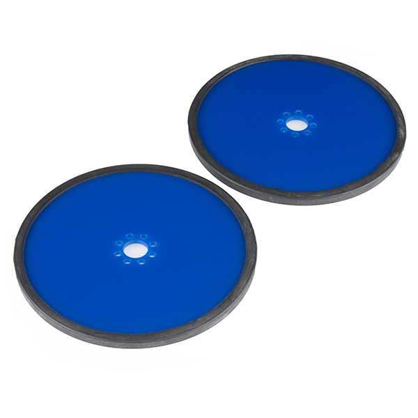 "Precision Disc Wheel - 5"" (Blue, 2 Pack)"