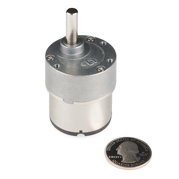 Standard Gearmotor - 168 RPM (3-12V)