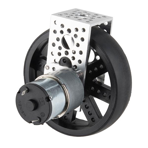 Standard Gearmotor - 2 RPM (3-12V)