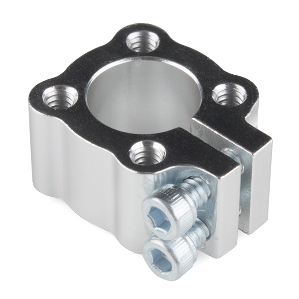 "Tube Clamp Hub - 1/2"" Bore"