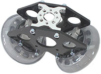 Dolly Wheel Plate - Idler A (pair)
