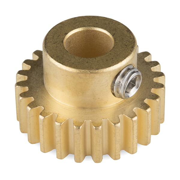 "Gear - Pinion Gear (24T; 0.25"" Bore)"