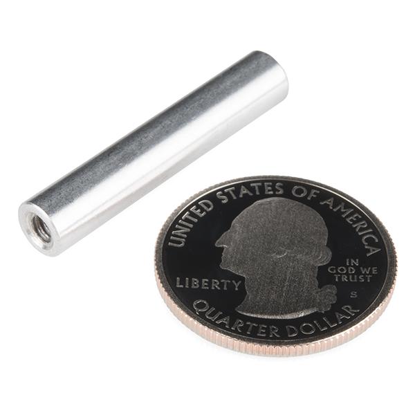 """Standoff - Aluminum Threaded (6-32; 1-1/4"""""""")"""