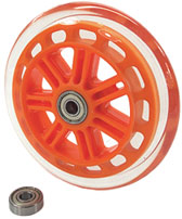 Skate Wheel - 4.90 (Orange)