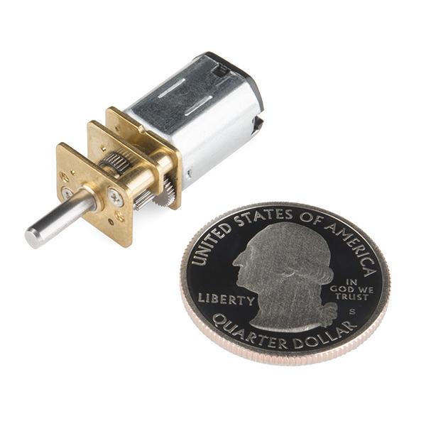 Micro Gearmotor - 130 RPM (6-12V)