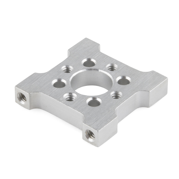 Hub - Quad D Mount (90 Degree)