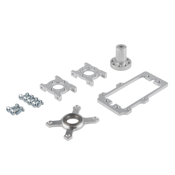 ServoBlock Kit - Hitec 1/4-Scale (Hub Shaft)