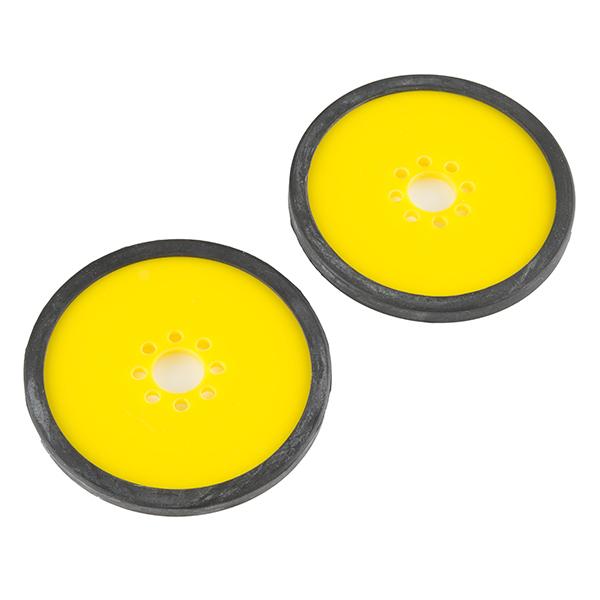 "Precision Disc Wheel - 3"" (Yellow)"