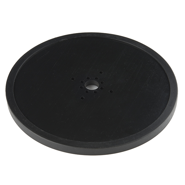 "Precision Disc Wheel - 6"" (Black)"