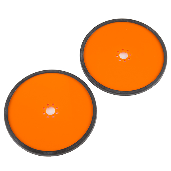 "Precision Disc Wheel - 5"" (Orange, 2 Pack)"