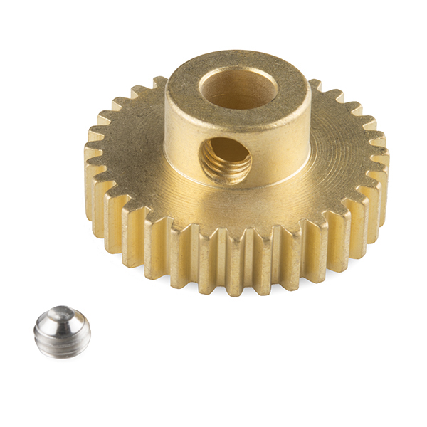 """Gear - Pinion Gear (32T; 0.25"""" Bore)"""