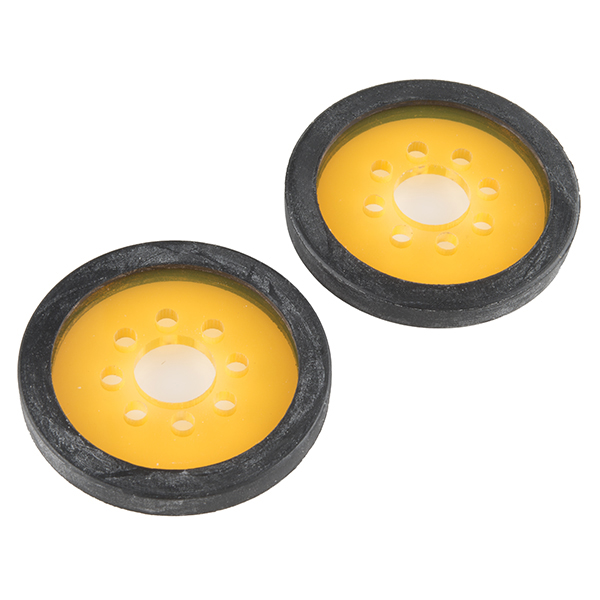 "Precision Disc Wheel - 2"" (Clear Orange)"