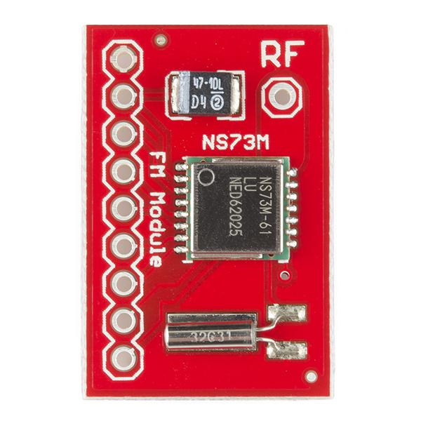 FM Radio Transmitter Breakout- NS73M