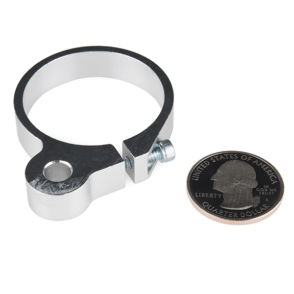 Motor Mount - Swivel Clamp (37mm)