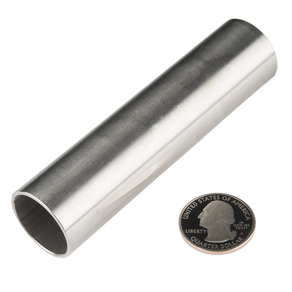 "Tube - Stainless (1""OD x 4.0""L x 0.88""ID)"