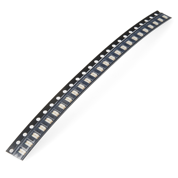SMD LED - Green 1206 (strip of 25)