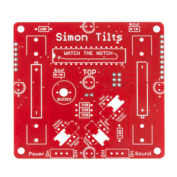 SparkFun Simon Tilts - Through Hole Soldering Kit