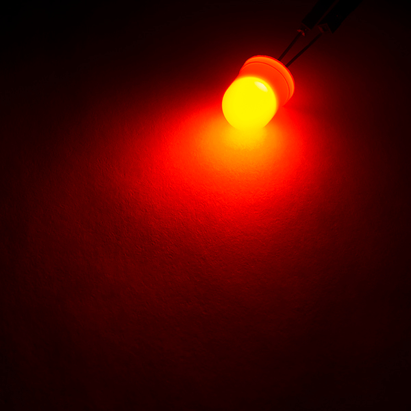 Diffused LED - Orange 10mm