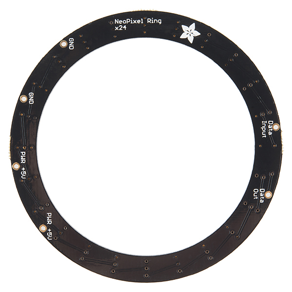 NeoPixel Ring - 24 x WS2812 5050 RGB LED