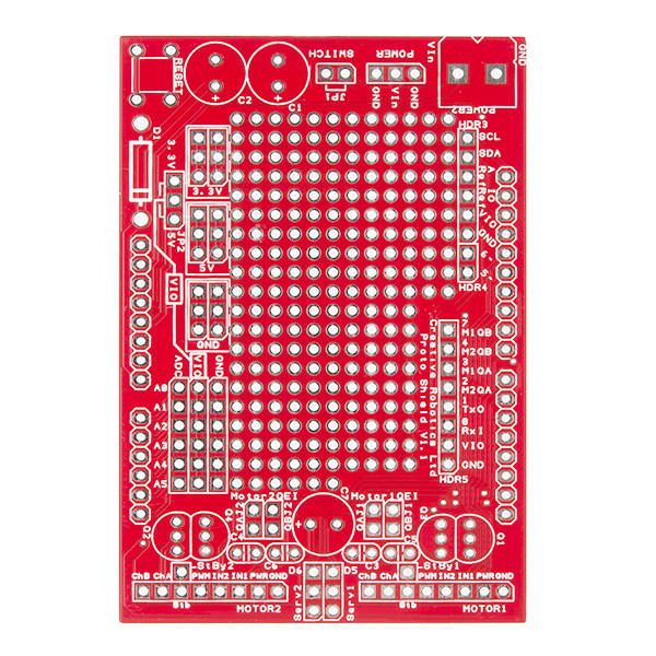 HUB-ee - Arduino Prototyping Shield