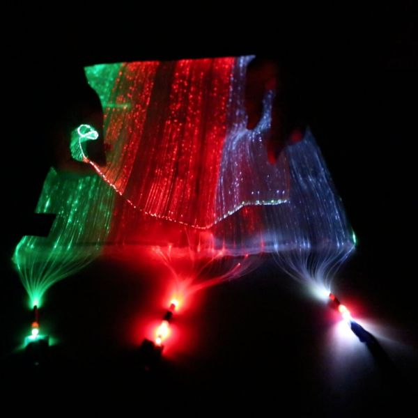 Fiber Optic Fabric - Black (40x75 cm)