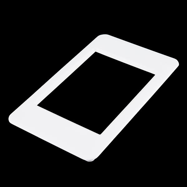 """LCD Bezel - 3.2"""" (White)"""