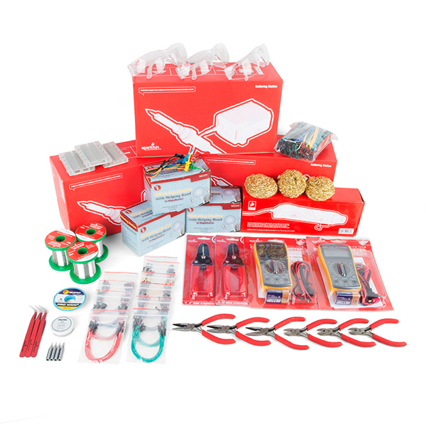 SparkFun Hack Pack Workshop Supply Kit