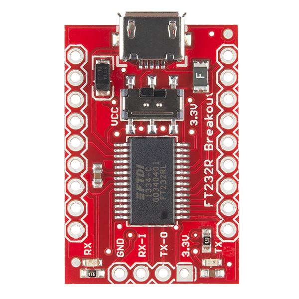 SparkFun USB to Serial Breakout - FT232RL - BOB-12731 - SparkFun ...