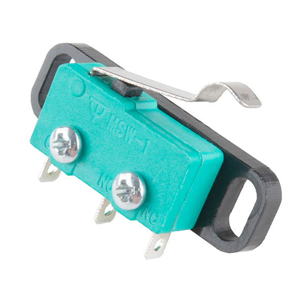 Mini Microswitch - SPDT (Offset Lever)