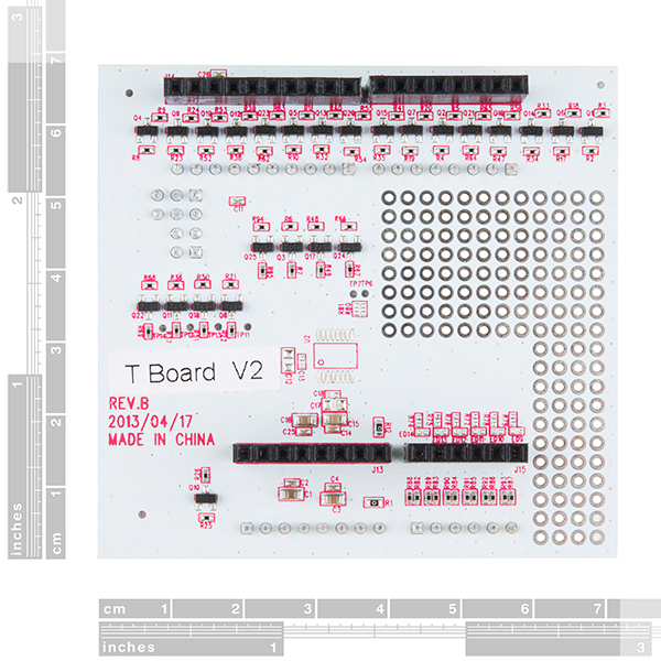 pcDuino - Voltage Translator Shield