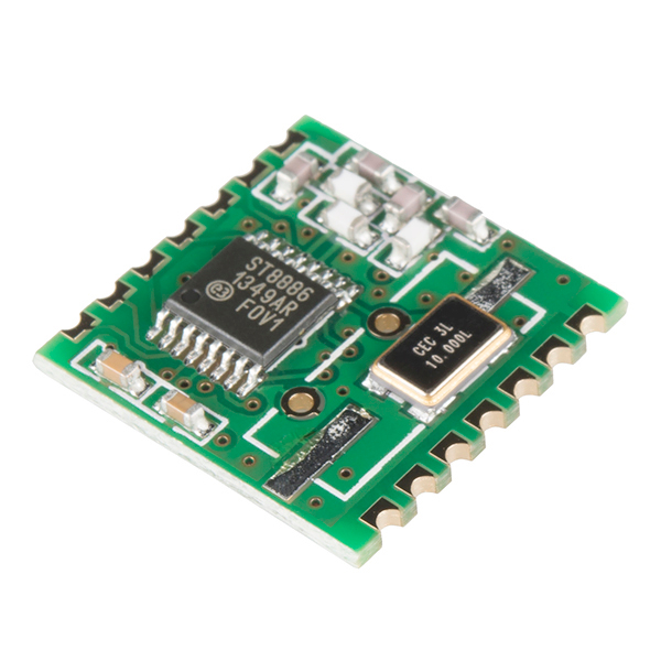 RFM12BSP Wireless Transceiver - 434MHz