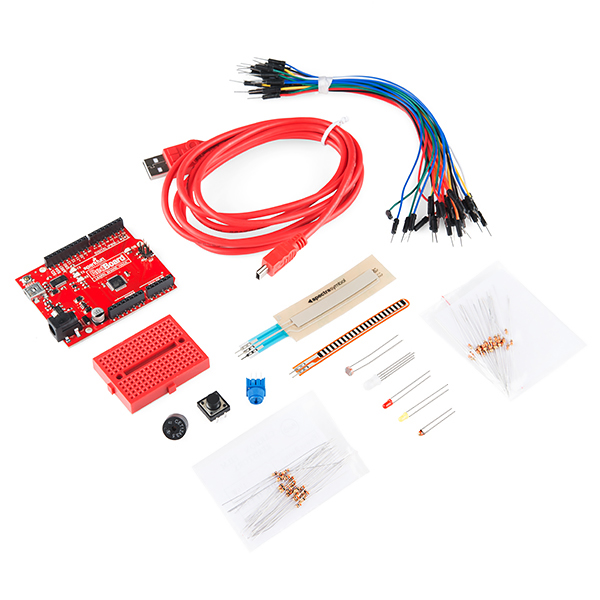 SparkFun Starter Kit for RedBoard - Programmed with Arduino