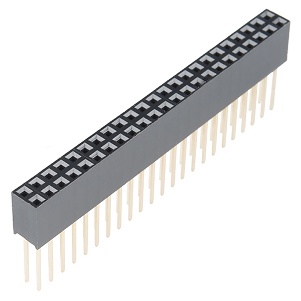 Stackable Header - 2x23 Pin Female