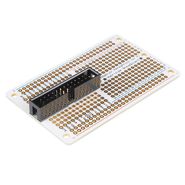 Raspberry Pi Perma-Proto Breadboard PCB Kit - Half-Size