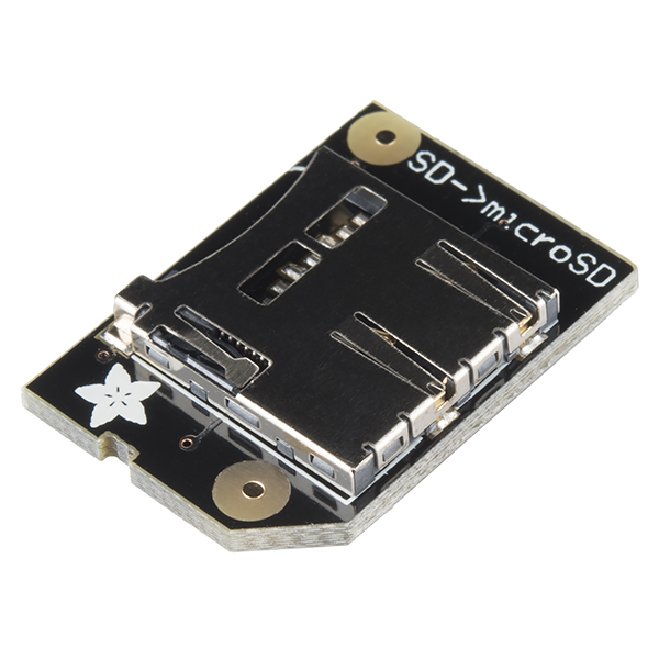 Raspberry Pi microSD Card Adapter - Low Profile