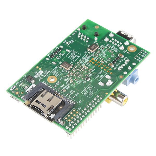 Raspberry Pi microSD Card Adapter - Low Profile