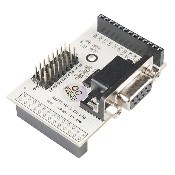 RS232 Shield - Raspberry Pi