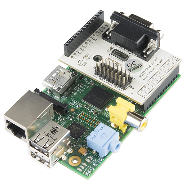 RS232 Shield - Raspberry Pi