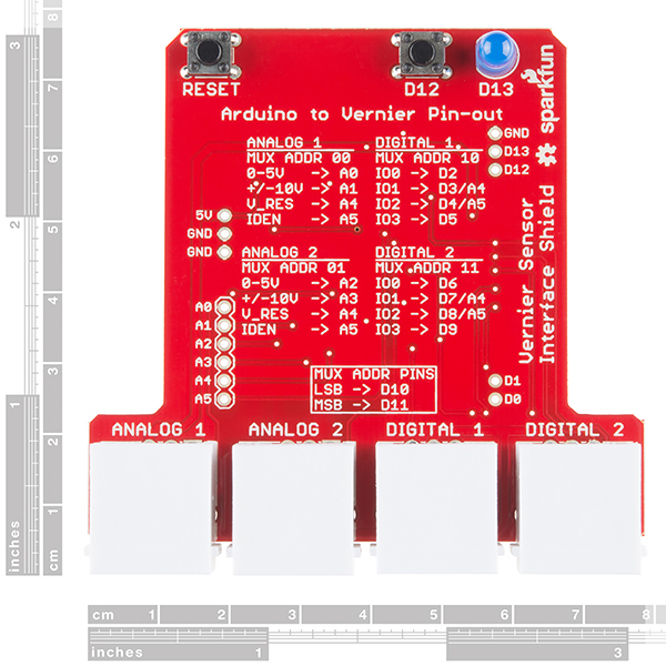 SparkFun Vernier Interface Shield