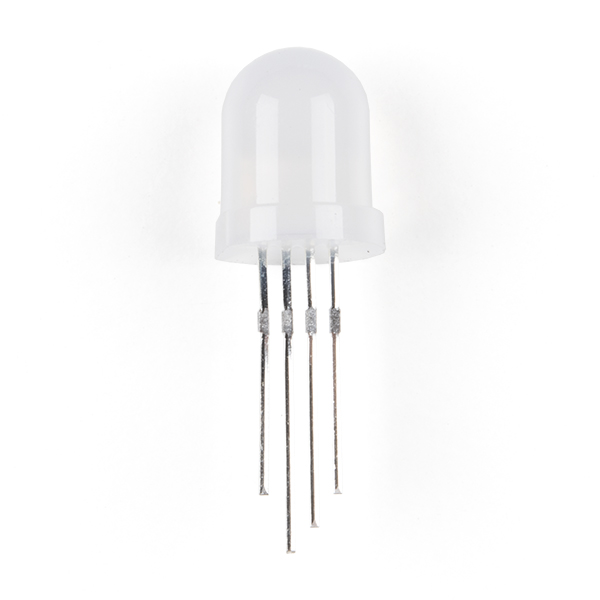 LED - RGB Addressable, PTH, 8mm Diffused (5 Pack)