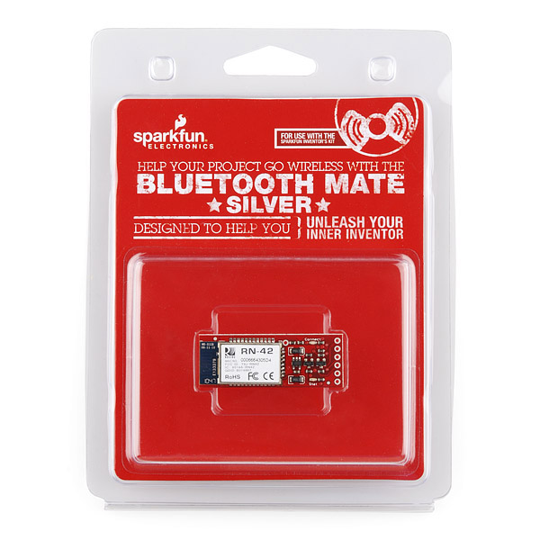 Bluetooth Mate Silver Retail (Ding and Dent)