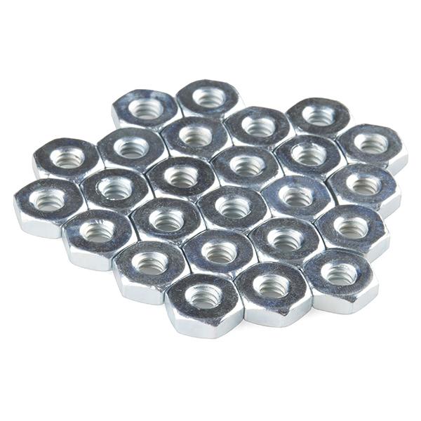 Nut - Metal (6-32, 25 pack)