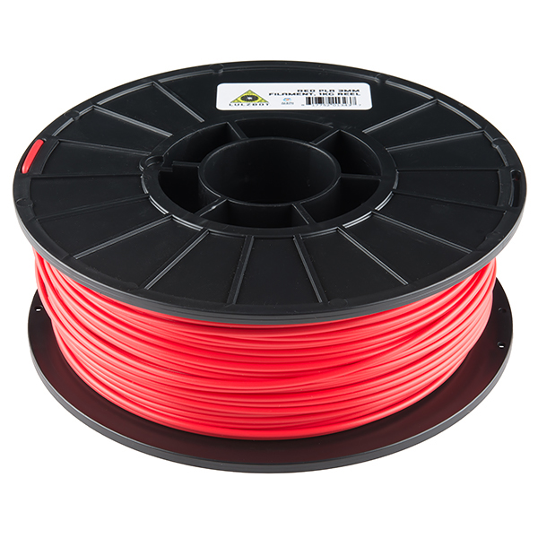 PLA Filament 3mm - 1kg (Red)