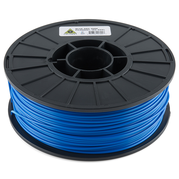ABS Filament 3mm - 1kg (Blue)