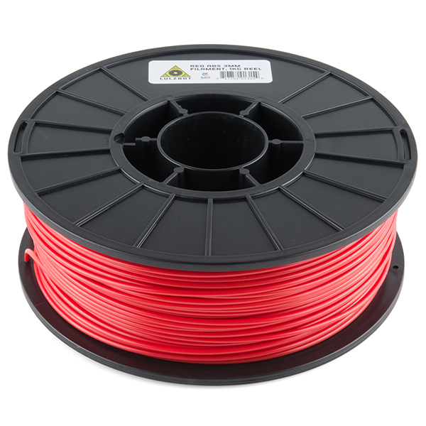 ABS Filament 3mm - 1kg (Red)