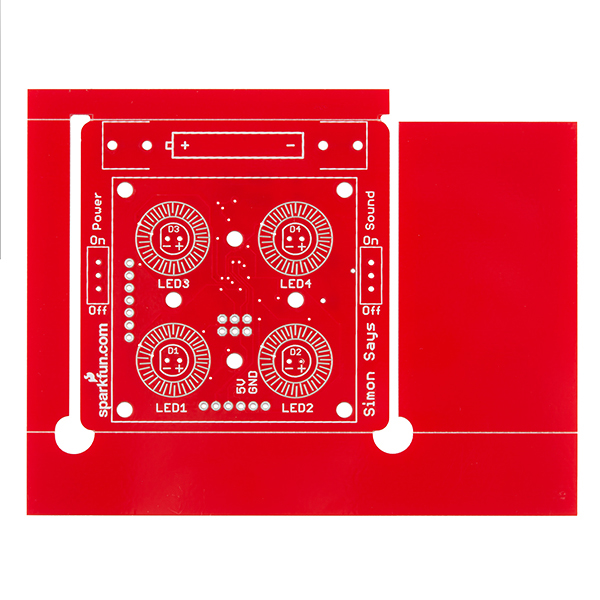 SparkFun Simon - Surface Mount Stenciling Kit