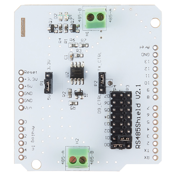 RS485 Shield V2 - DEV-12965 - SparkFun Electronics