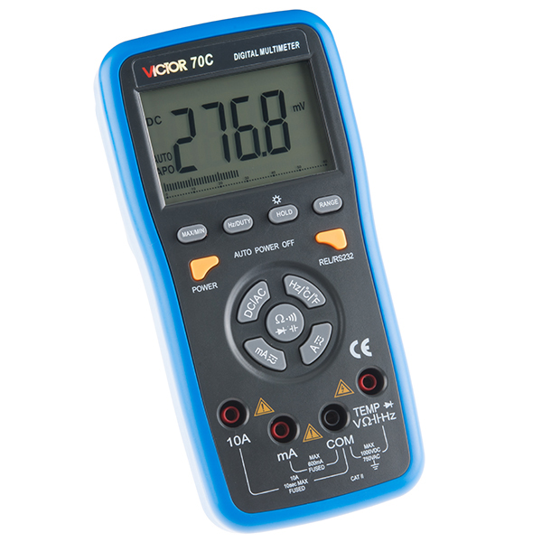 USB Digital Multimeter - Auto-Ranging (RS232 Output)